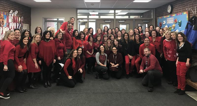 JFK Goes Red for Women to benefit the American Heart Association