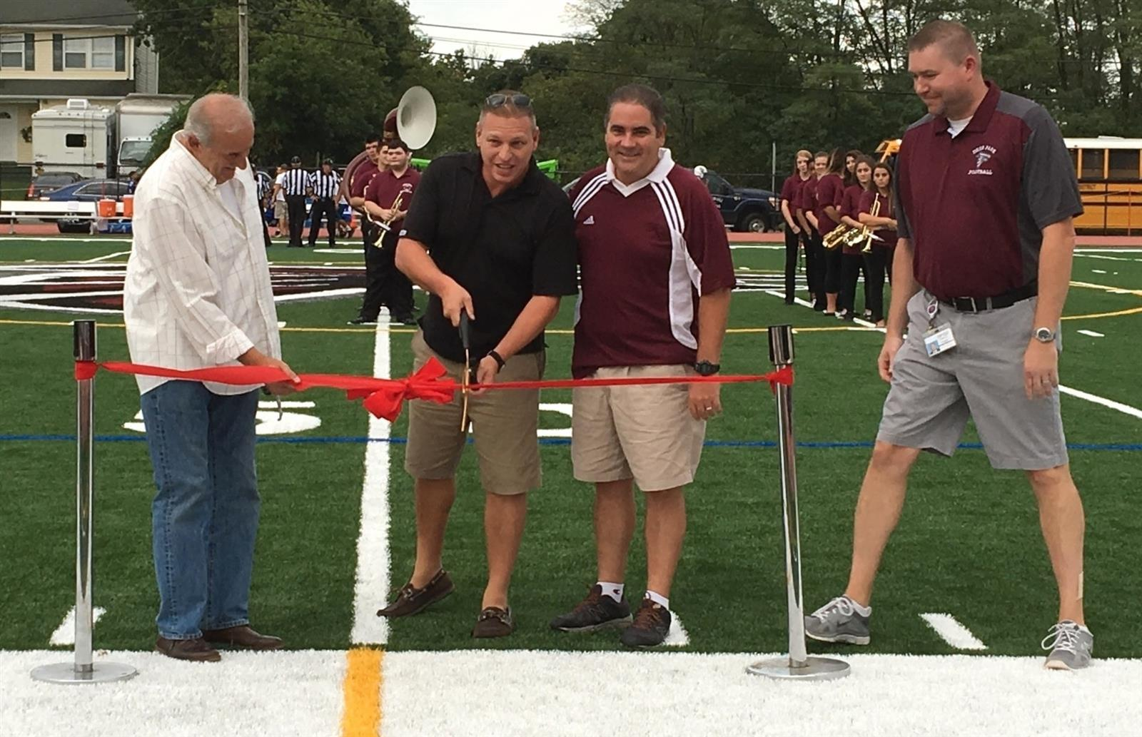 New Turf Field Proudly Unveiled
