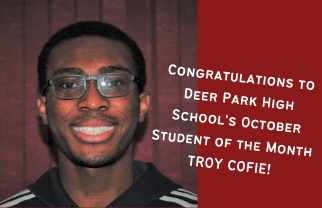 Troy Cofie Named DPHS October Student of the...