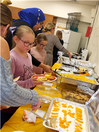JFK Fourth-Graders Share Cultural Foods at Feast 2