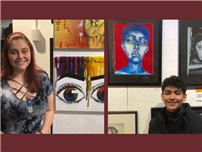 AP Art Students Get Inspired at Advanced Visions