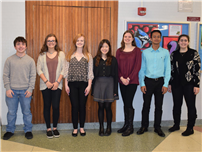 Student Achievements Honored at Board Meeting