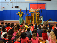 JQA Students Energized by Fabulous African Folktales