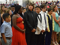 Middle Schoolers Celebrate Memories and Successes 1