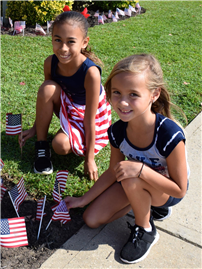 Deer Park's Young Students Honor Patriot Day with Flag Plantings 3 thumbnail133730