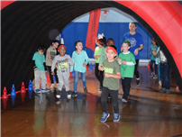 Character Building at JQA Ends With Fun Glow Run