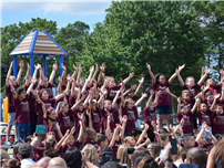 Deer Park's Primary Students Move Up to JFK