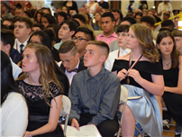 Frost Eighth-Graders End Middle School on a High Note