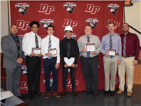 Spring Athletes Recognized at HS