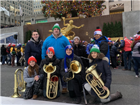 Deer Park Musicians Take Up Tubas for NYC Christmas Concert