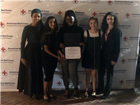 High School's Red Cross Club Honored as