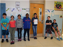 JFK Fifth-Graders Take Up Crayon Campaign 1