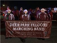 Marching Falcons Perform at Fire Department Parade thumbnail143728