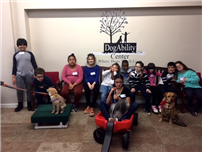 Students Learn Responsibility During Dog Ability Visit