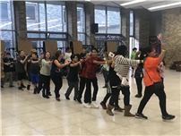 Conga-Lining to Celebrate Culture at Robert Frost