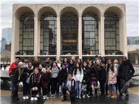 Frost Eighth-Grade Orchestra Attends Lincoln Center Rehearsal
