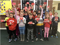 JFK Third-Graders Honor 104-Year-Old Vet with Valentines