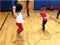 May Moore Students Jump for Healthier Lifestyle