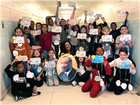 "JFK Fourth Graders Display Their ""Dreams"" for MLK Day thumbnail161630"