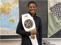 Sophomore Boxer Jahi Tucker Ranked First in the Nation