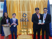 Four DECA Students Earn State Trophies