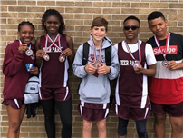 Frost Track Athletes Bring Home the Medals at Elks Invitational