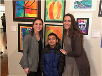 Artistic May Moore Second-Graders Showcased at 'Colors'