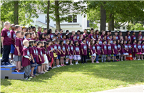 Deer Park's Primary Students Move Up to JFK 2